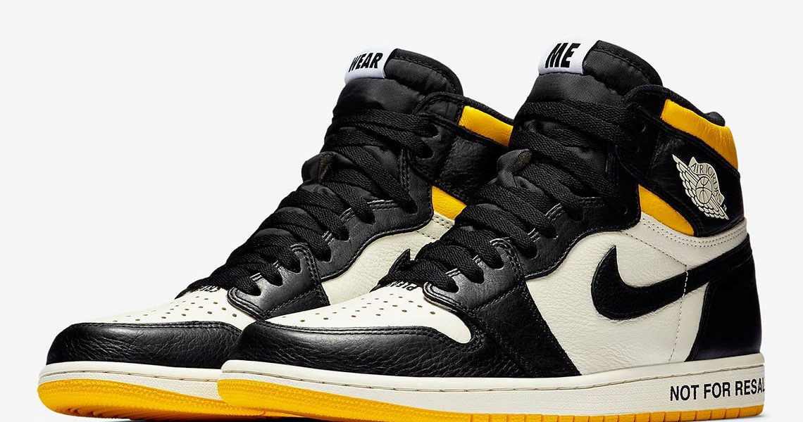 air jordan 1s not for resale shoes